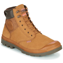 Stivaletti uomo Palladium  PAMPA SHIELD WP+ LUX  Marrone Palladium 3610942838318