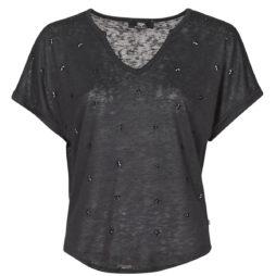 T-shirt donna Le Temps des Cerises  BOTE  Nero Le Temps des Cerises 3607813858285