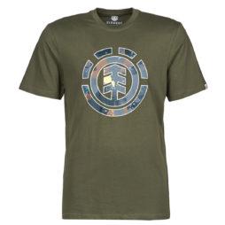 T-shirt uomo Element  WATER CAMO ICON FILL SS  Kaki Element 3665601099555