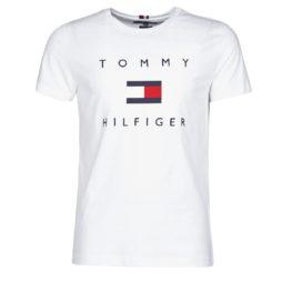 T-shirt uomo Tommy Hilfiger  TOMMY FLAG HILFIGER TEE  Bianco Tommy Hilfiger 8719862977970
