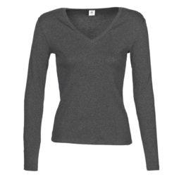 T-shirts a maniche lunghe donna Petit Bateau  58314  Grigio Petit Bateau 3102274416260