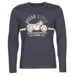 T-shirts a maniche lunghe uomo Oxbow  M2TRIP  Blu Oxbow 3605168064245