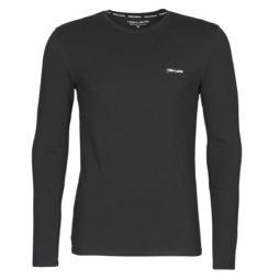 T-shirts a maniche lunghe uomo Teddy Smith  T-NARKY ML  Nero Teddy Smith 3607184822205