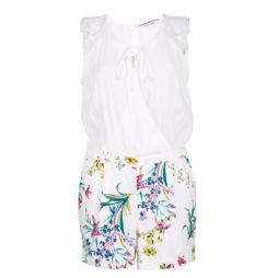 Tute / Jumpsuit donna Naf Naf  LYGARDA D2  Bianco Naf Naf 3606846684663