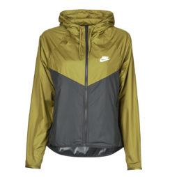 giacca a vento donna Nike  W NSW WR JKT  Kaki Nike 194494944626
