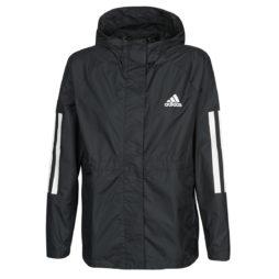 giacca a vento donna adidas  W BSC 3S WIND J  Nero adidas 4062055136109