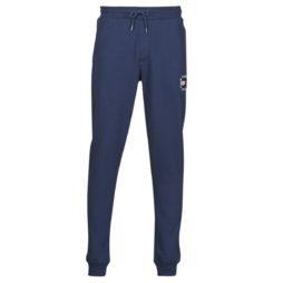 Pantaloni Sportivi uomo Tommy Jeans  TJM SLIM BOX FLAG SWEAT PANT  Blu Tommy Jeans 8720114069220
