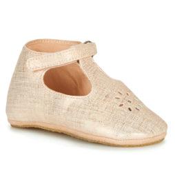 Pantofole bambini ragazza Easy Peasy  LILLYP  Oro Easy Peasy 3608925439560