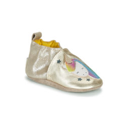 Pantofole bambini ragazza Robeez  CUT UNICORN  Oro Robeez 3612889744431