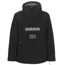Parka donna Napapijri  RAINFOREST POCKET  Nero Napapijri 5400852682419