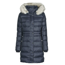 Piumino donna Tommy Hilfiger  TH ESS TYRA DOWN COAT WITH FUR Tommy Hilfiger 8720112405464