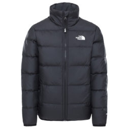 Piumino ragazza The North Face  REVERSIBLE ANDES JACKET SUMMIT  Nero The North Face 193394636105