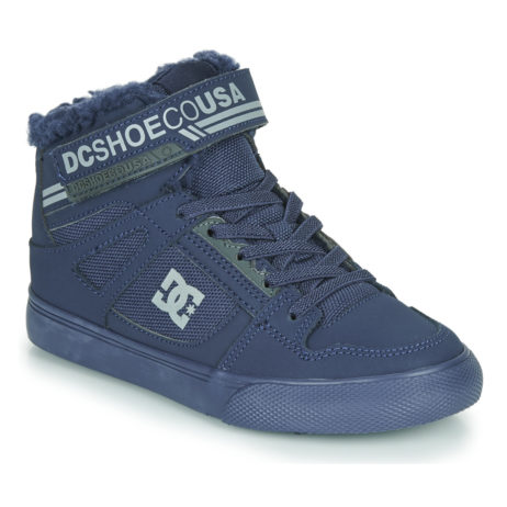 Scarpe bambini ragazza DC Shoes  PURE HIGH TOP WNT EV  Blu DC Shoes 3613375609517