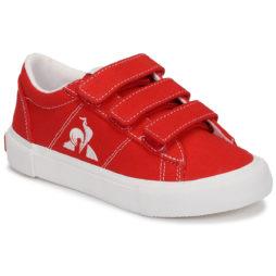Scarpe bambini ragazza Le Coq Sportif  VERDON PLUS  Rosso Le Coq Sportif 3606803971614