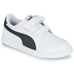 Scarpe bambini ragazza Puma  SHUFFLE PS  Bianco Puma 4063697684409