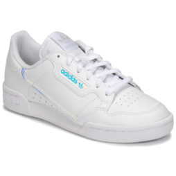 Scarpe bambini ragazza adidas  CONTINENTAL 80 J  Bianco adidas 4061616402837