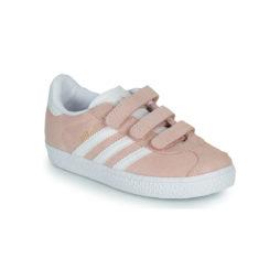 Scarpe bambini ragazza adidas  GAZELLE CF I  Rosa adidas