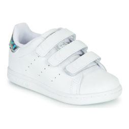 Scarpe bambini ragazza adidas  STAN SMITH CF I  Bianco adidas