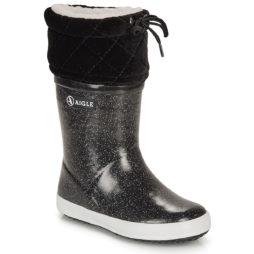 Scarpe da neve bambini ragazza Aigle  GIBOULEE PRINT  Nero Aigle 3246578032280