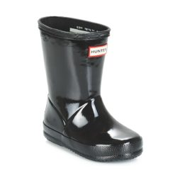 Stivali bambini ragazza Hunter  KIDS FIRST CLASSIC GLOSS  Nero Hunter 5013441573359