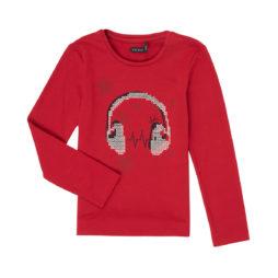 T-shirts a maniche lunghe ragazza Ikks  XR10062  Rosso Ikks 3605443222728