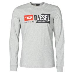 T-shirts a maniche lunghe uomo Diesel  T-DIEGO-LS-CUTY Diesel 8059010075555