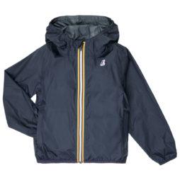 giacca a vento ragazza K-Way  LE VRAI 3.0 CLAUDE KIDS  Blu K-Way 8054936283862