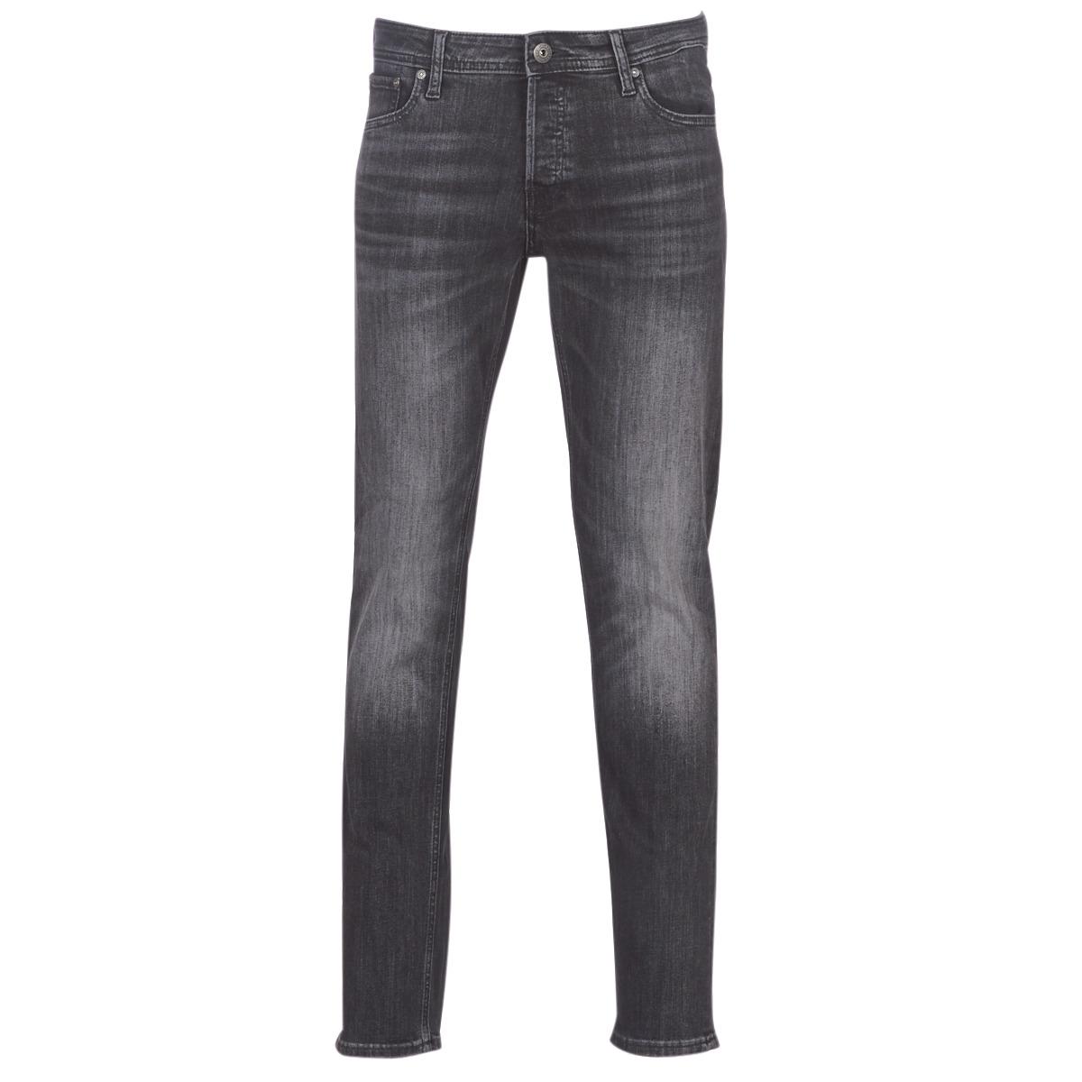 Jeans Slim uomo Jack   Jones  JJIGLENN  Nero Jack   Jones 5713778697772