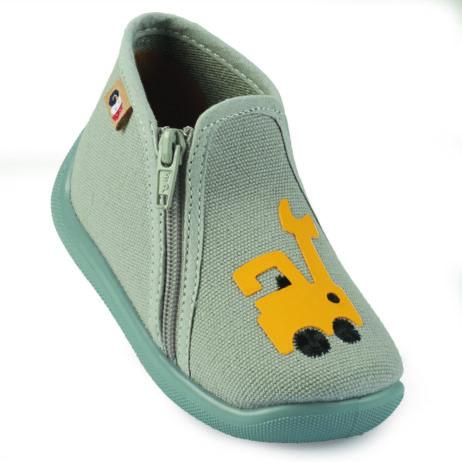 Pantofole bambini ragazza GBB  APOMO  Grigio GBB 3608925460229