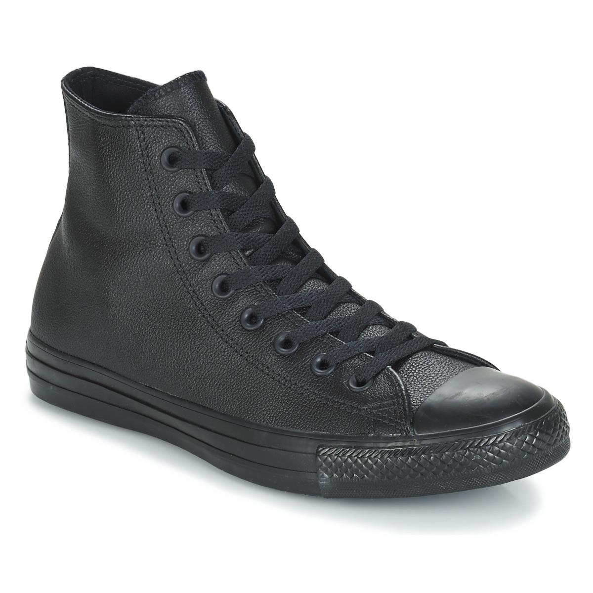Sneakers alte donna Converse CHUCK TAYLOR ALL STAR MONO HI Nero