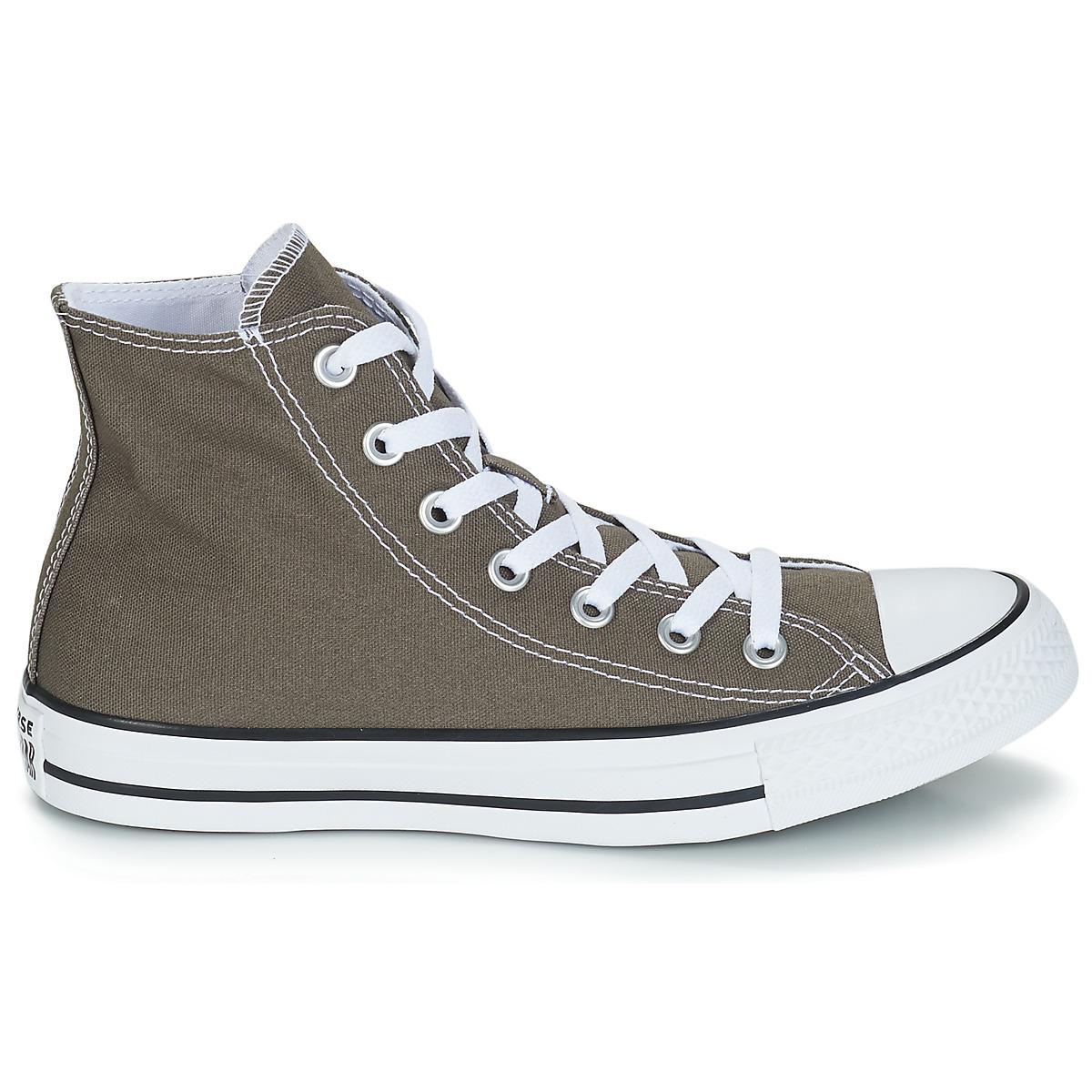 Sneakers alte donna Converse CHUCK TAYLOR ALL STAR SEAS HI Grigio