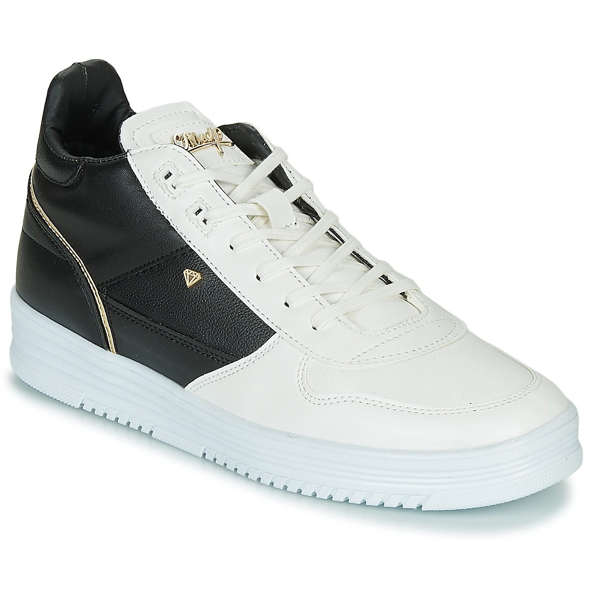 Sneakers alte uomo Cash Money  CMS72-LUXURY  Bianco Cash Money 3700459388762