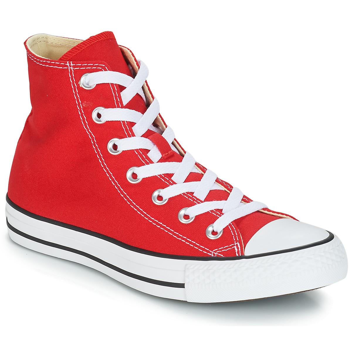 Sneakers alte uomo Converse CHUCK TAYLOR ALL STAR CORE HI Rosso
