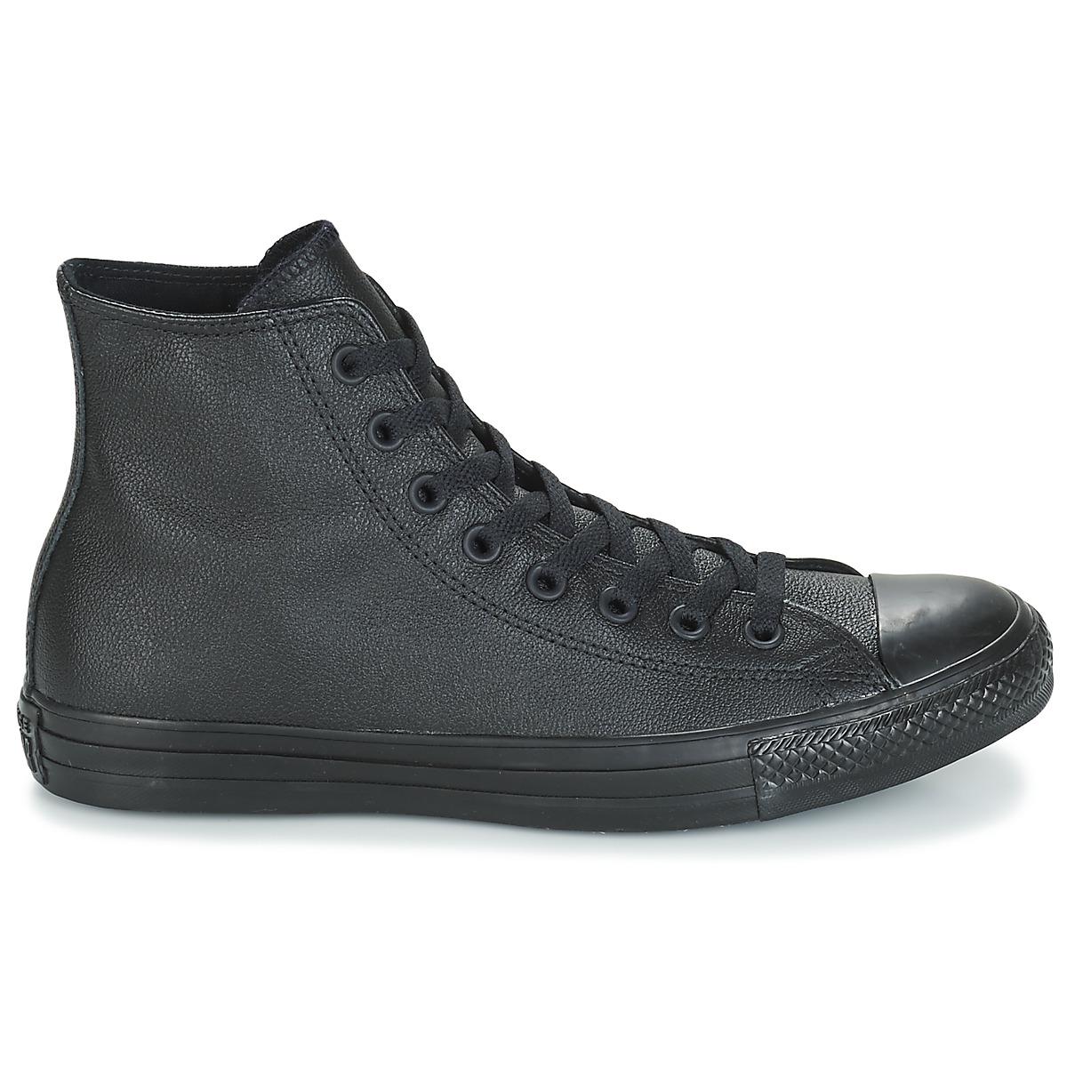 Sneakers alte uomo Converse CHUCK TAYLOR ALL STAR MONO HI Nero