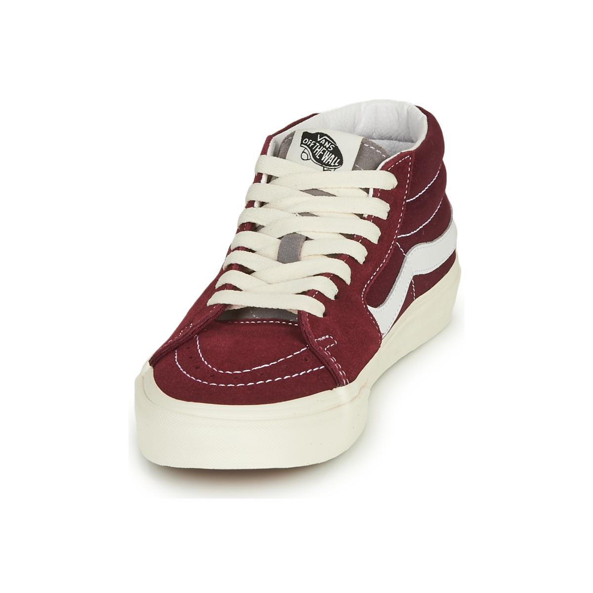 Sneakers alte uomo Vans SK8-MID Bordeaux
