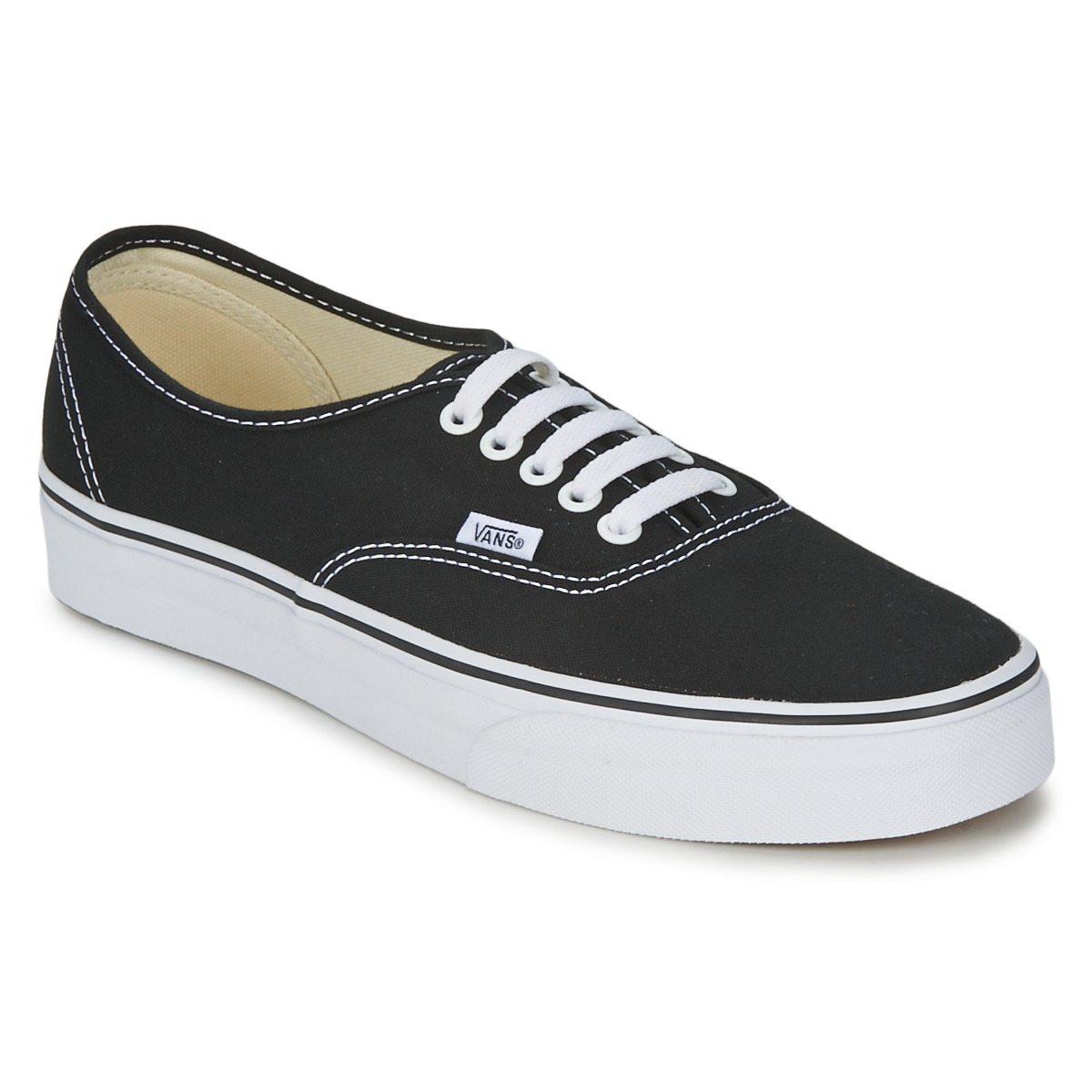 Sneakers basse donna Vans AUTHENTIC Nero