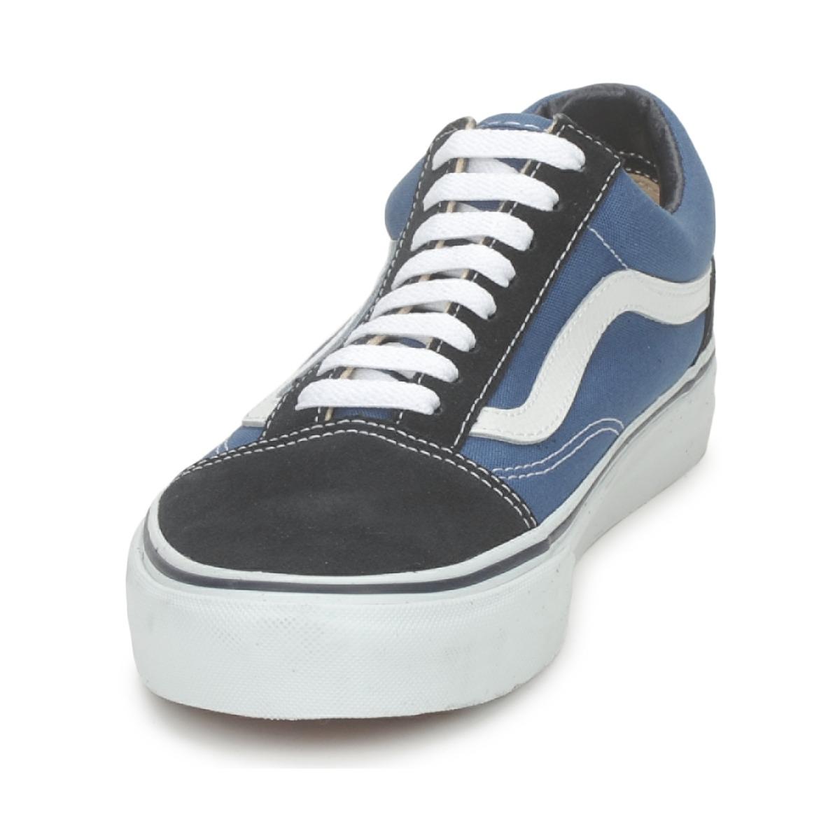 Sneakers uomo Vans OLD SKOOL Blu