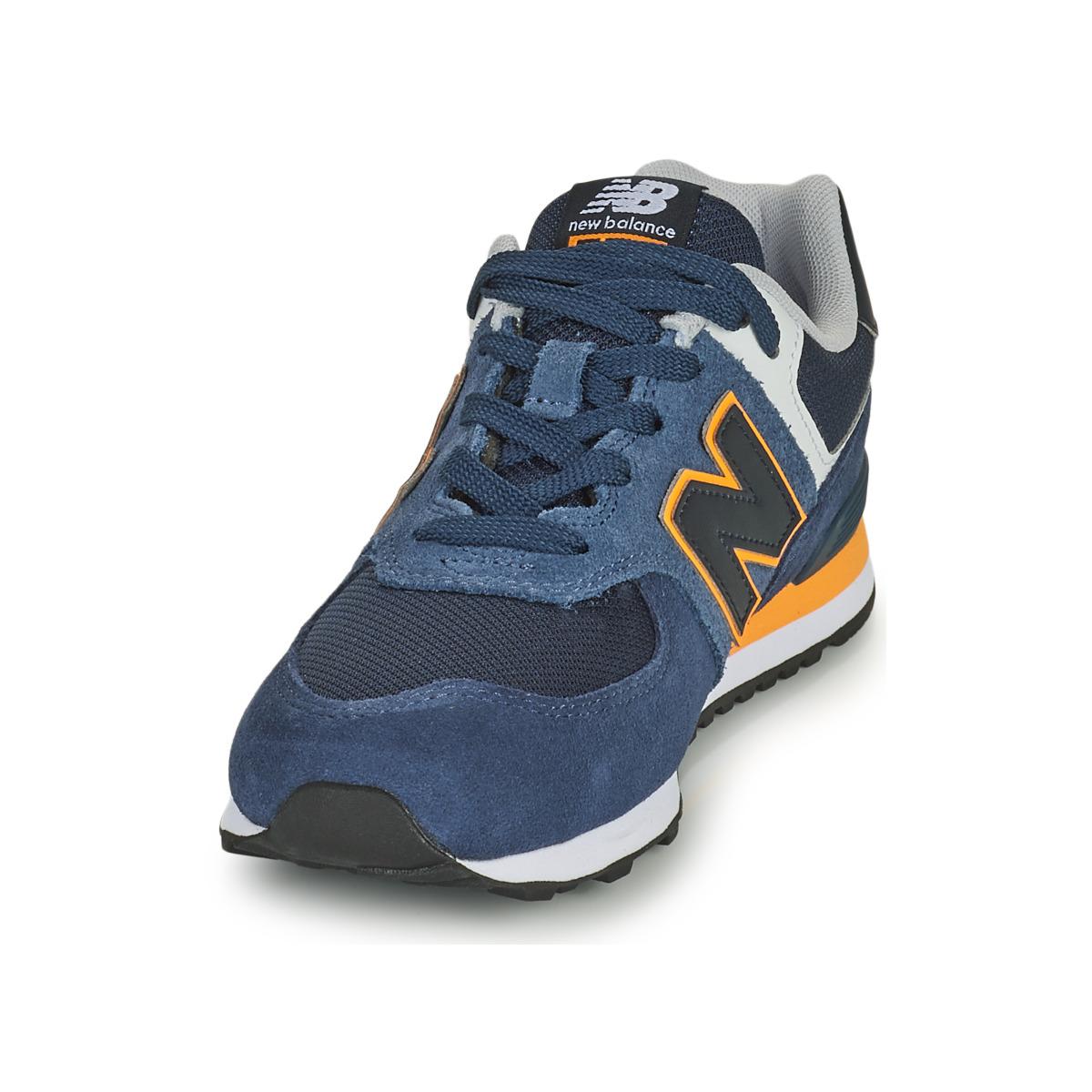New Balance 574 Blu Bambino 18751308 Consegna Gratuita