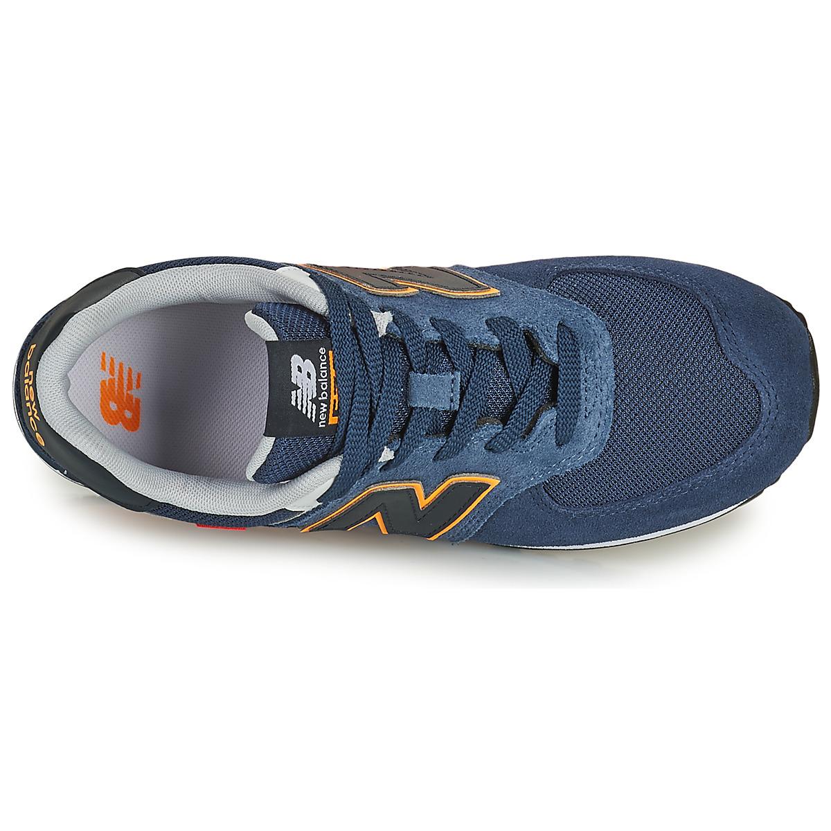 Sneakers Scarpe bambino ragazzo New Balance 574 Blu