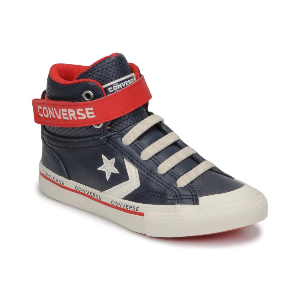 Sneakers Scarpe bambino ragazzo Converse PRO BLAZE STRAP RIVALRY HI Blu