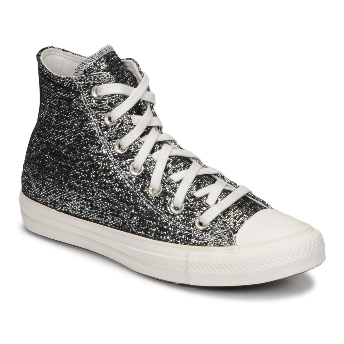 Sneakers alte donna Converse CHUCK TAYLOR ALL STAR GOLDEN REPAIR HI Nero